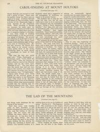St. Nicholas Magazine Article 'Carol-Singing at Mount Holyoke' by Helen Davis