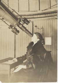 Dr. Anne S. Young in the Observatory