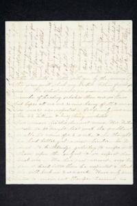 Letter from Hannah Louisa Plimpton, Class of 1848, and sister Sarah to their brother and sister