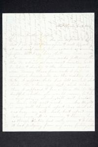 Letter from Hannah Louisa Plimpton, Class of 1848, to her brother and sister