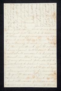 Letter from Hannah Louisa Plimpton to Lyman Peet, April 1, 1858