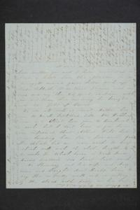 Letter from Sarah Plimpton and Mrs. Hannah Marsh Plimpton to their sister and daughter, Hannah Louisa Plimpton, Class of 1848