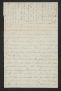 Letter from a sibling (possibly Catherine) to Hannah Louisa Plimpton, Class of 1848