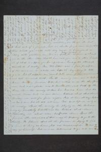 Letter from a friend to Hannah Louisa Plimpton, Class of 1848