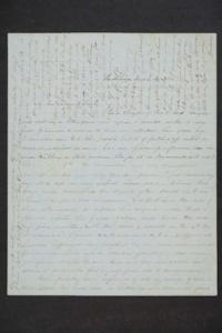 Letter from Beulah Plimpton to Sarah Plimpton and Hannah Louisa Plimpton, Class of 1848