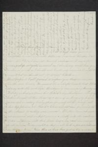 Letter from Sarah Plimpton to friends at home, with a note at the end from sister Hannah Louisa Plimpton, Class of 1848