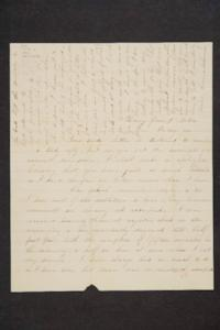 Letter to Hannah Louisa Plimpton from Anna M. Somers