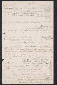 Archivist Notes on Hannah Louisa Plimpton Peet Hartwell