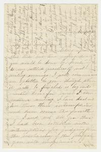Letter from Elizabeth Lucy Chapin to Emily Chapin, November 12, 1860