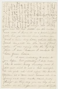 Letter from Elizabeth Lucy Chapin to Emily Chapin, March 12, 1860
