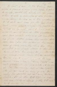 Letter from Mary Otis Spafford, August 14, 1882