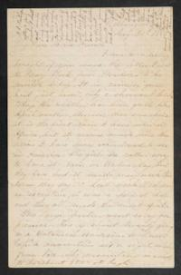 "Letter from Mary Otis Spafford to ""My Dear Home Friends,"" August 30, 1882"