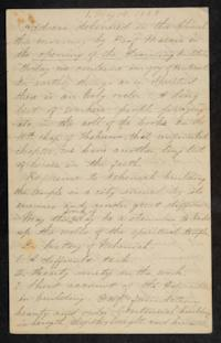 Letter from Mary Otis Spafford, May 14, 1883