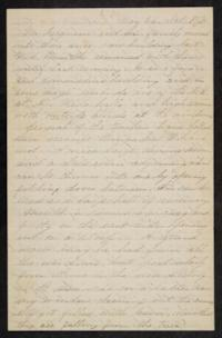 Letter from Mary Otis Spafford, May 26