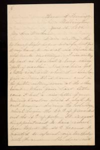 Letter from Mary Otis Spafford to Sarah Montague Moody Preston (Mrs. Calvin Preston), mother, June 16, 1885