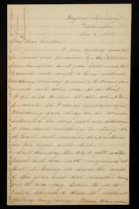 Letter from Mary Otis Spafford to Sarah Montague Moody Preston (Mrs. Calvin Preston), mother, Decemeber 6, 1885
