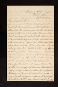 Letter from Mary Otis Spafford to Sarah Montague Moody Preston (Mrs. Calvin Preston), mother, October 12, 1886