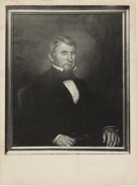 Portrait painting of Deacon Andrew W. Porter