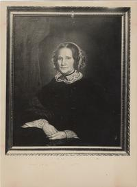 Portrait painting of Hannah Porter