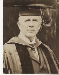 Joseph A. Skinner in regalia
