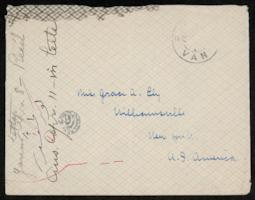 Letter and envelope from Grace H. Knapp '93 to Grace A. Ely; written in Van, Turkey