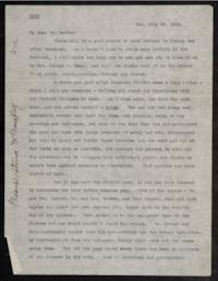 Letter from Grace H. Knapp '93 to Dr. James L. Barton; written in Van, Turkey