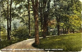 Drive In The Goodnow Park, Mount Holyoke College, South Hadley, Mass.