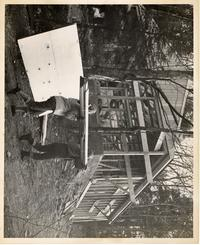 Building the Outing Club Cabin, December 1960
