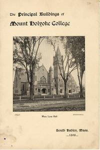 The Principal Buildings of Mount Holyoke College, 1898