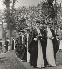 Frances Perkins on Ivy Day, Mount Holyoke College