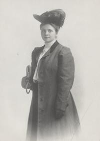Frances Perkins, ca. 1900-01