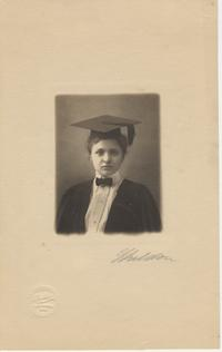 Frances Perkins Commencement Photograph, 1902