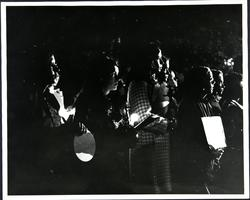 Mount Holyoke students holding a vigil as part of the nationwide students' strike against the Vietnam War