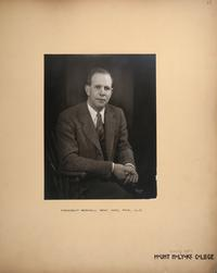 Mount Holyoke View Book, President Roswell Gray Ham