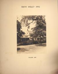 Mount Holyoke View Book, the College Inn, on College Street, across the street from campus