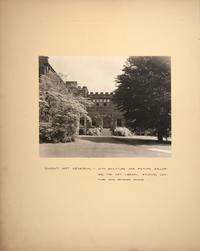 Mount Holyoke View Book, Dwight Art Memorial Hall, view toward the north