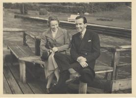 Edward R. and Janet Brewster Murrow, ca. 1937-1939