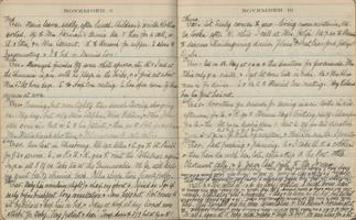 Charlotte A. Ward diary pages