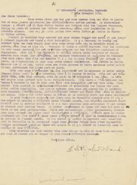 Edwin Ward letter to his parents, November 19, 1914