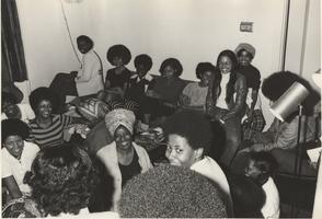 A group of African-American Students, ca. 1970-72