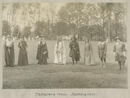May Day Pageant: Characters from Shakespeare