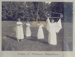May Day Pageant: Stage of Machine Production
