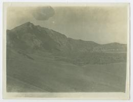 Nemrut Crater (volcano) on the northwest shore of Lake Van, Turkey, as it appeared when Charlotte and Mary A. C. Ely were missionaries in the area