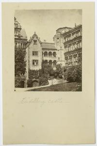 View of Heidelberg Castle in Heidelberg, Germany, from the travels of Charlotte and Mary A. C. Ely, Class of 1861