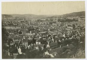 Panoramic view of Bath, England, from the travels of Charlotte and Mary A. C. Ely, Class of 1861
