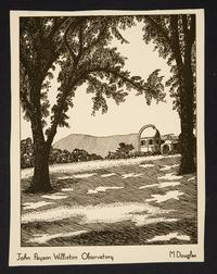 Drawing or Print of Observatory by Margaret E. Douglas '40