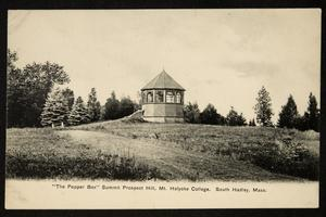The Pepper Box on Prospect Hill, exterior, view from south