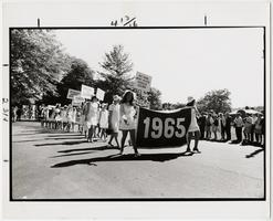 Alumnae Parade, members of the Class of 1965, photograph