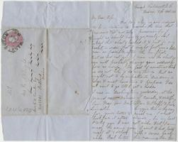 Letter from Nathaniel Leighton to Lizzie Leighton, October 8, 1861