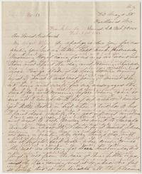 Correspondence between Lizzie Leighton and Nathaniel Leighton, February 7, 1864